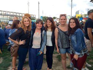 HS Girls At A Fair